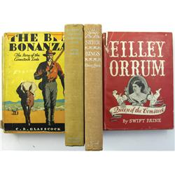 NV - 1929-1947 - Comstock Lode Book Lot :