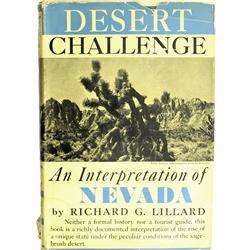 NV - 1942 - Desert Challenge: An Interpretation of Nevada, Book :