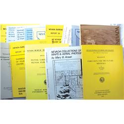 NV - Earthquake, Oil & Gas Geology Publications :