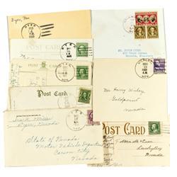 NV - c. 1908-1960 - Esmeralda Co. Cover & Postcard Collection :