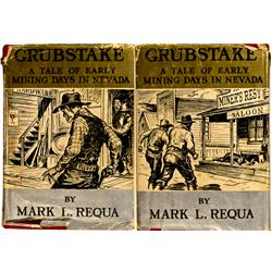 NV - 1874 - Grubstake, A Tale of Early Mining Days in Nevada, Publication :