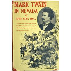 NV - 1947 - Mark Twain in Nevada, Book :
