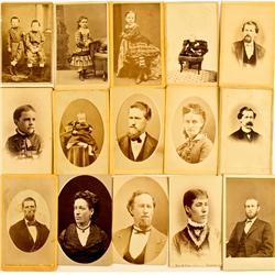 NV - 1863-1875 - Nevada CDV Collection :