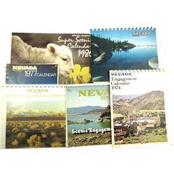 NV - 1972-1986 - Nevada Magazine Calendars :
