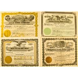 NV - Nevada Stocks Group 1902-1934