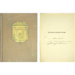 NV - c1920 - Nevada's Golden Stars, Book :