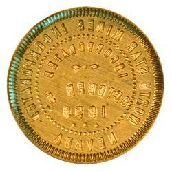 NV - 1953 - North Star Mines Brass Die :