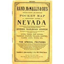 NV - c1902 - Pocket Map by Rand McNally :