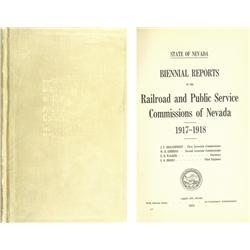 NV - 1919-1956 - Railroad Books :