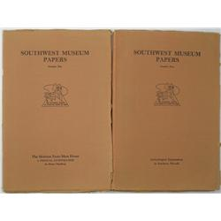 NV - Southwest Museum Papers, Numbers 4 & 5 :