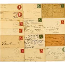 Aurora/Fletcher,NV - 1890-1912 - Aurora/Fletcher Cover Collection :