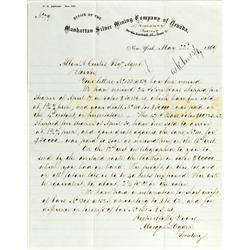 Austin,NV - Lander - May 22, 1869 - Ogden, Moran L. Letter :