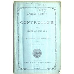 Carson City,NV - Ormsby County - 1874 - Annual Report of the Controller of the State of Nevada :