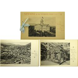Carson City,NV - Ormsby County - 1893 - Nevada at the World's Fair, Accompanied by Illustrations of