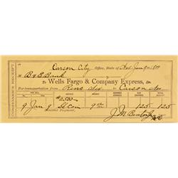 Carson City,NV - Consolidated Municipality of Carson City - January 9, 1900 - Wells Fargo & Co Expre