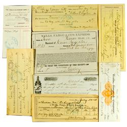 Carson City,NV - 1870s-1890s - Wells Fargo & Co.'s Express Collection of Documents :
