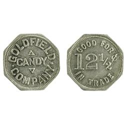 Goldfield,NV - Esmeralda County - Goldfield Candy Company Token : 12 1/2c -