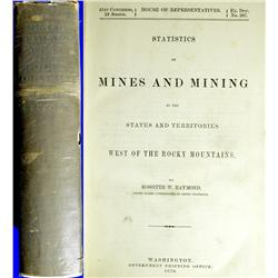 Independence,NV - Inyo County - 1870 - Statistics of Mines and Mining in the States and Territories
