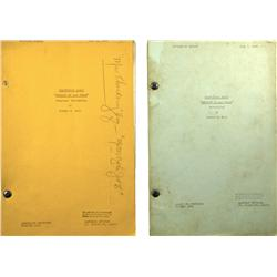 Las Vegas,NV - Clark County - 1944 - Sheriff of Las Vegas Original Screenplay Scripts :