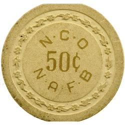 North Las Vegas,NV - Clark County - Nellis Air Force Base Token GF 50c : 50c -