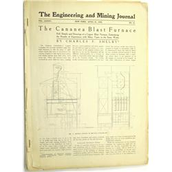Rawhide,NV - Mineral County - April 1908 & February 1909 - Engineering and Mining Journals on Rawhid