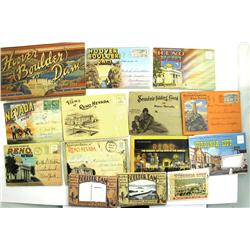 Reno,NV - Washoe County - 1920s-1940s - Miscellaneous Nevada Post Card-Packets Collection :