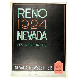 Reno,NV - Washoe County - April 5, 1924 - Nevada Newsletter :