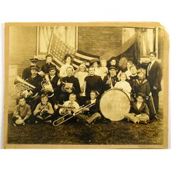 Reno,NV - Washoe County - c1895 - Salvation Army Band Photograph :