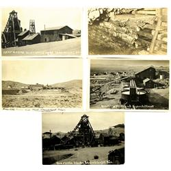 Searchlight,NV - Clark County - c1900-1910 - Quartette Mine RPC Group :