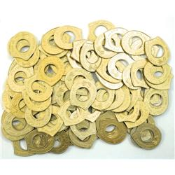 Sparks,NV - Washoe County - Gold Club Encased Cent Pieces :