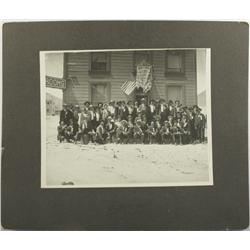 Tonopah,NV - Nye County - c1905 - Hotel and Fraternal Order Photograph :