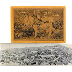 Tonopah,NV - Nye County - Souvenir Picture Booklet :