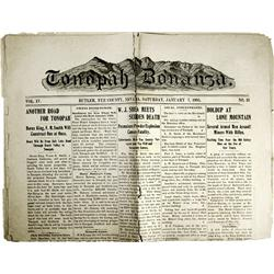 Tonopah,NV - Nye County - 1/7/1905 - Tonopah Bonanza :