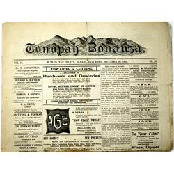 Tonopah,NV - Nye County - December 20, 1902 - Tonopah Bonanza Newspaper :