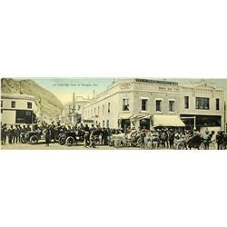 Tonopah,NV - Nye County - c1920 - Tonopah Colored Panoramic Post Card :