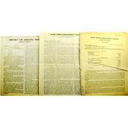 Unionville,NV - Pershing County - 1918-1925 - Unionville, Nevada Mining Reports :