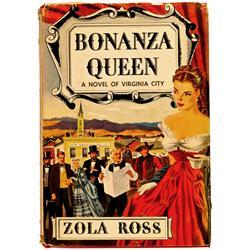 Virginia City,NV - Storey County - 1949 - Bonanza Queen: A novel of Virginia City :