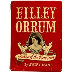 Virginia City,NV - Storey County - 1929 & 1949 - Eilley Orrum Queen of the Comstock Book :