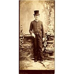 Virginia City,NV - Storey County - c1886 - John S. Noe Cabinet Card :