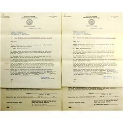 Virginia City,NV - Storey County - 1957-1960 - Mine Ownership Documents :