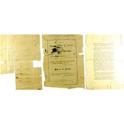 Virginia City,NV - Storey County - 1879 - Nevada Supreme Court Document :