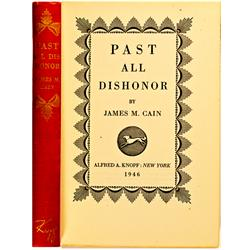 Virginia City,NV - Storey County - Past All Dishonor, Book :
