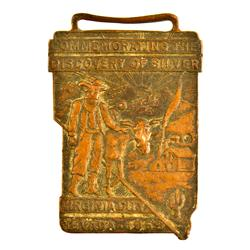 Virginia City,NV - Storey County - 1900-1910 - Virginia City Brass Fob :