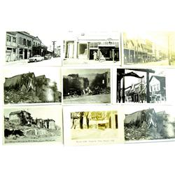 Virgnina City,NV - Storey County - 1915-1952 - Building Fronts Post Cards :