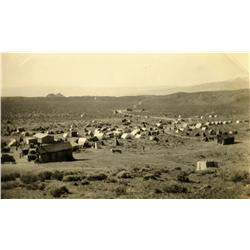Weepah,NV - Esmeralda County - 1927 - Vista of Mining Town Photograph :