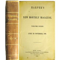 New York City,NY - New York County - 1866 - Harpers Magazine Vol. 33 :