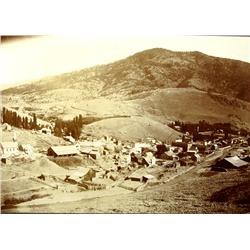 Canyon City,OR - Grant County - c1900 - Vista Over Photograph :