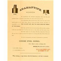 PA - Adamantine Stampmill Handbill :