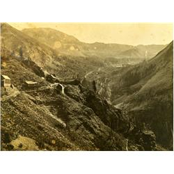 Bingham Canyon,UT - Weber County - c1900 - Bingham Canyon Long-View Photograph :