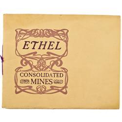 WA - c1860-1900 - Ethel Consolidated Mines Prospectus :